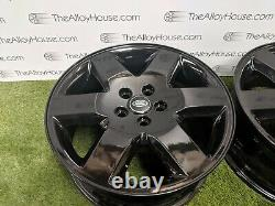 4x Land Rover Discovery 3 or 4, 19 inch Alloy Wheels Refurbished with powdercoat