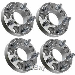 4x Landrover 50mm Aluminium Wheel Spacers Discovery 3 & 4 Range Rover L322 Sport