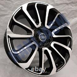 4x New 22 Inch Alloy Wheels Alloys Black Fit Range Sport Vogue Rover Discovery