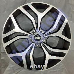 4x New 22 Inch Alloy Wheels Alloys Fits Range Sport / Vogue / Discovery Rover