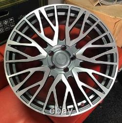 4x23 Velare Vlr01 Alloy Wheels Fits Range Rover Vogue Sport Discovery Bmw X5 X6