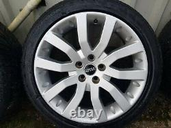 5x120 Range rover sport vogue discovery alloy wheels with tyres