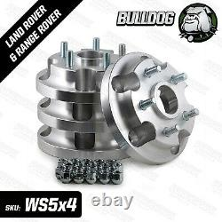 Adaptors To Fit RR L322, Sport, Disco 3 & 4 Rims To LR Defender Discovery 1 RRC