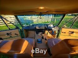 Barn Find 1973 Range Rover Classic Suffix B Lincoln Green