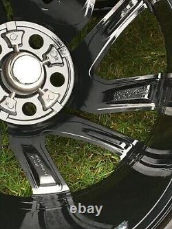 Black Genuine 21 Range Rover Sport Vogue Discovery Alloy Wheels Pirelli Tyres