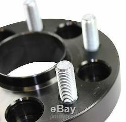 Black Raptor 40mm Aluminium Land Rover Discovery 2 Wheel Spacers TD5 and V8