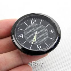 Car Vehicle Dashboard Air Vent Metal Clock Interior Accessories Parts Trims