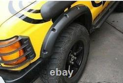Defender Range Rover Discovery (+ 2) ABS Plastic Wheel Arch Extensions