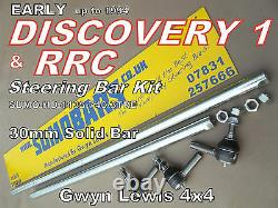 Discovery 1 Range Rover Classic 30mm Heavy Duty Steering Bars rods kit SUMOBARS