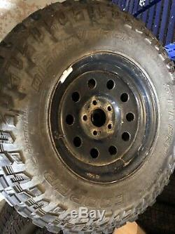 Discovery 2 p38 range rover set 16 inch wheels tyres cooper discoverer stt pro