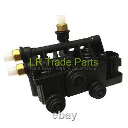 Discovery 3, 4 & Range Rover Sport New Rear Air Suspension Relief Valve Block
