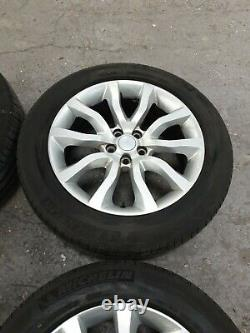 (E) Genuine Range rover sport 20 alloy wheels & tyres vogue discovery