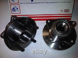 FITS LAND ROVER DISCOVERY 3 & 4 + RANGE ROVER SPORT 2x NEW FRONT WHEEL BEARINGS