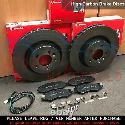 FOR LAND ROVER DISCOVERY 4 SDV6 XS FRONT BREMBO BRAKE DISCS PADS SENSOR 360mm
