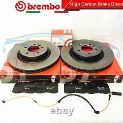 FOR LAND ROVER RANGE ROVER SPORT FRONT BREMBO BRAKE DISCS PADS SENSOR 360mm