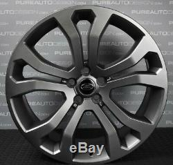 FOUR Genuine Range Rover L405 SV Autobiography 22 514 Matte Grey Alloy Wheels