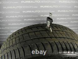 FOUR Genuine Range Rover Sport SVR 21 Alloy Wheels Michelin Tyres Gloss Black