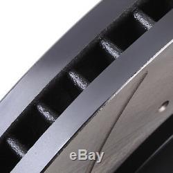 FRONT DRILLED GROOVED 360mm BRAKE DISCS FOR RANGE ROVER SPORT 3.0 TD V6 4.4 5.0