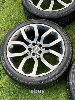 Factory 22 Range Rover Sport Vogue Discovery Svr Alloy Wheels Continental Tyres