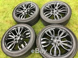 Factory Range Rover Sport Vogue Discovery Svr Alloy Wheels Continental Tyres
