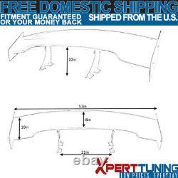 Fits Mazda 3 6 57 Inch GT Super Downforce Trunk Spoiler Wing