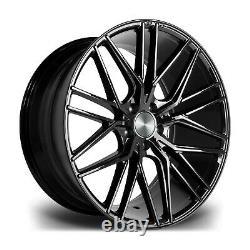 Fits Range Rover Vogue Sport Disco x4 22 Riviera Rv130 Alloy Wheels Gloss Black