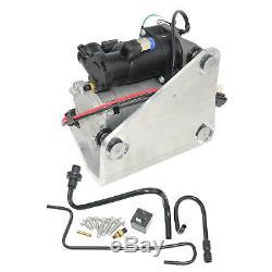 For Range Rover Sport Lr3 Lr4 Amk Type Air Suspension Compressor Pump & Relay