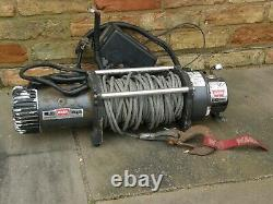 G4 Land Rover Discovery 3 Range Rover Sport Warn 9.5XP Winch Kit
