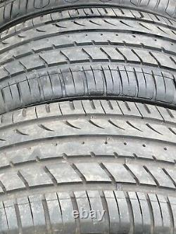 GENUINE 4 x 21 RANGE ROVER SPORT VOGUE DISCOVERY ALLOY WHEELS EXCELLENT TYRES