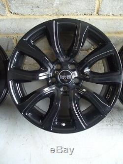 Genuine 18 Range Rover Evoque Land Rover Discovery Sport Black Alloy Wheels