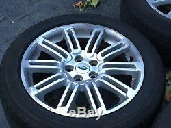 Genuine 20 Land Rover Discovery 4 Alloy Wheels Landmark Hse With Tyres
