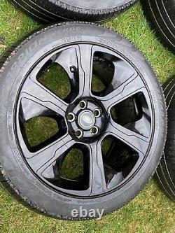 Genuine 21 Range Rover Sport Vogue Discovery Alloy Wheels Pirelli Tyres x 4