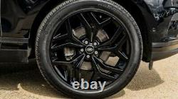 Genuine 21 Range Rover Velar Evoque Discovery Sport Alloy Wheels Conti Tyres