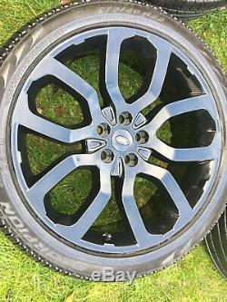 Genuine 22 Range Rover Sport Vogue Discover Svr Alloy Wheels Pirelli Tyres