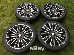 Genuine 22 Range Rover Velar Alloy Wheels With 275 40 22 Tyres