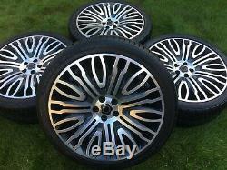 Genuine 23 Overfinch Range Rover Sport Vogue L495 L405 Alloy Wheels Tyres