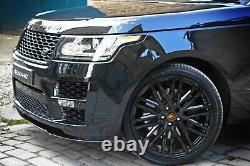 Genuine Barugzai Dawn Range Rover Vogue 22 Alloy Wheels Discovery Sport