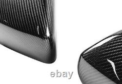 Genuine Carbon Fibre Wing Mirror Cover Replacement 2013+ Range Rover Sport Vogue
