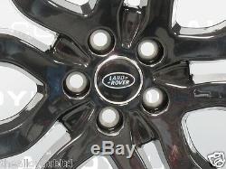 Genuine Range Rover Evoque 20 Gloss Black Style 6 / 5004 Single Alloy Wheel X1