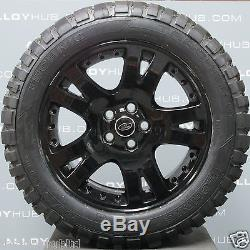 Genuine Range Rover L322/ Sport 19inch Black Alloy Wheels And Mud T Tyres X4