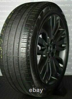 Genuine Range Rover Sport 5007 21 Satin GREY Alloy Wheels Pirelli Tyres TPMS x4