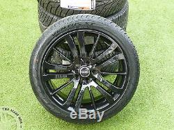 Genuine Range Rover Sport Hst 20inch Black Alloy Wheels+tyres, Discovery 3/4