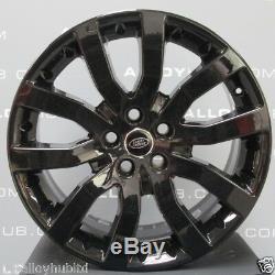 Genuine Range Rover Sport V Spoke 20 Black Alloy Wheels X4, Discovery 3/4 Vw T5