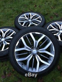 Genuine Range Rover Sport Vogue Discovery Svr L495 L405 Alloy Wheels Tyres 4 Svr