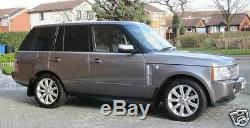 Genuine Range Rover Vogue L322 Supercharged Silver 20inch Alloy Wheels+tyres X4