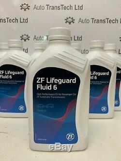 Genuine Range Rover l322 zf 6 speed automatic gearbox sump pan filter oil 7L kit