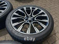 Genuine Urban 22 Phoenix Alloy Wheels + Tyres Range Rover Sport Vogue Discovery