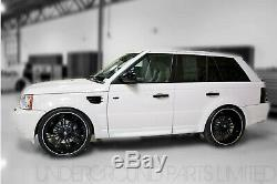 Gloss Black Door Handle Covers Land Range Rover Sport Discovery 3 Freelander 2
