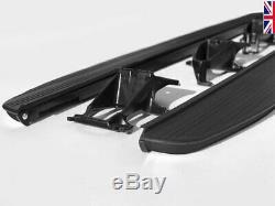 HAWKE STEALTH Black Patterned Side Steps Range Rover Vogue L405 Sport L494 L462