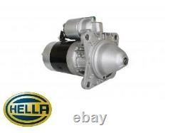HELLA Starter Motor Land Rover Defender Discovery 2.5D TD 200/300TDI NAD500210